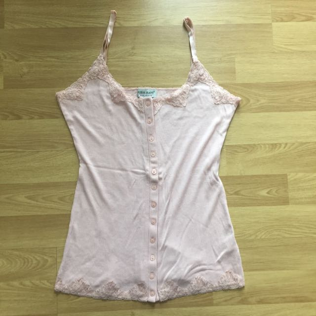 Guess Jeans Tank Top Stretch Medium