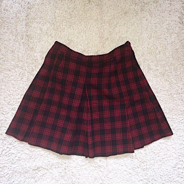 H&M Plaid Skirt