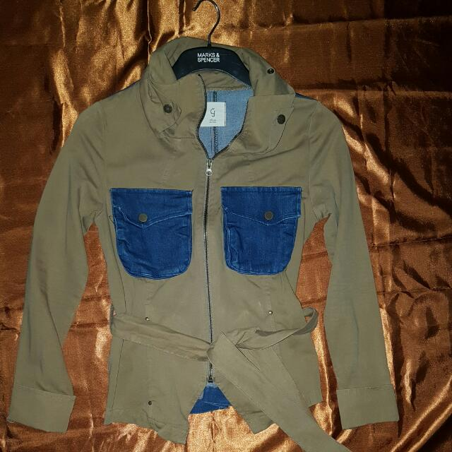 Jacket Jeans Merk By Ganji (Korea)