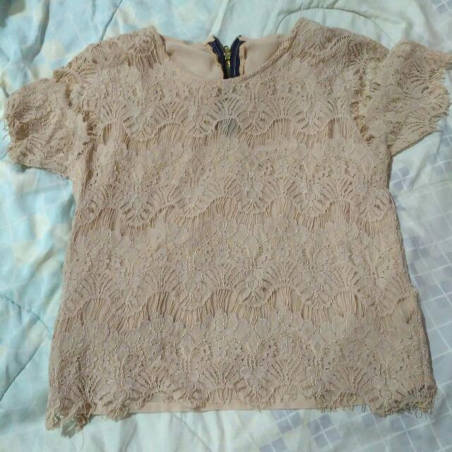 Lacy Crop Top