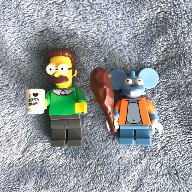 [Lego] 辛普森家庭 The Simpsons 魯肉 老鼠 樂高人偶