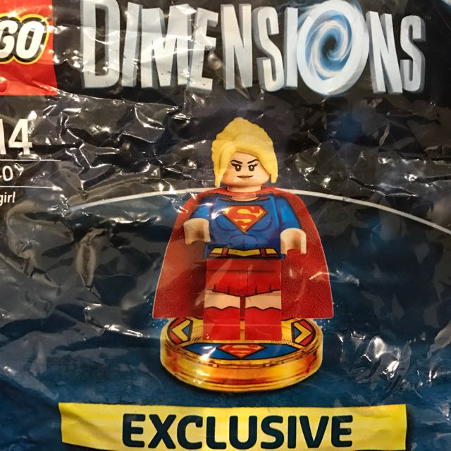 Lego Dimensions Limited Edition Super Girl