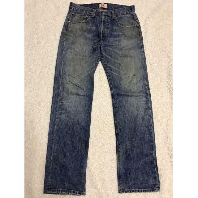 LEVI'S LEVIS 08501-0408 W32 L34 刷色直筒牛仔褲 501 502 505 522