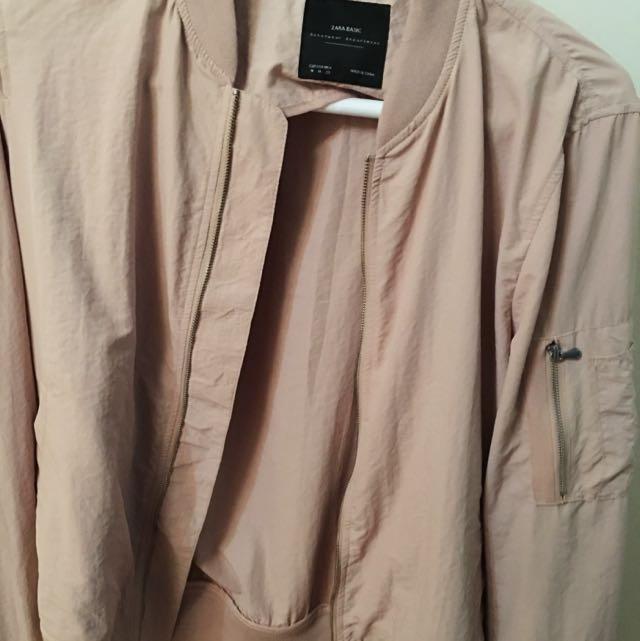 Lightweight Peach/Nude Jacket