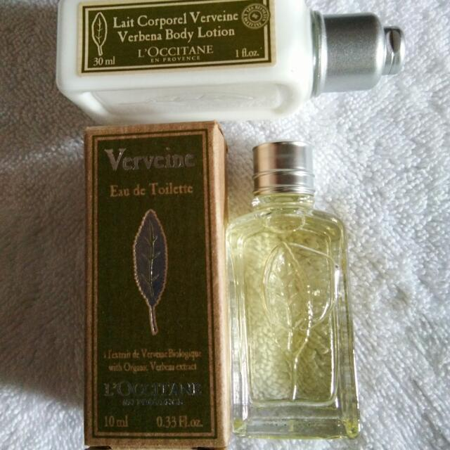 L'occitane Eau De Toilette & Lotion Travel Set