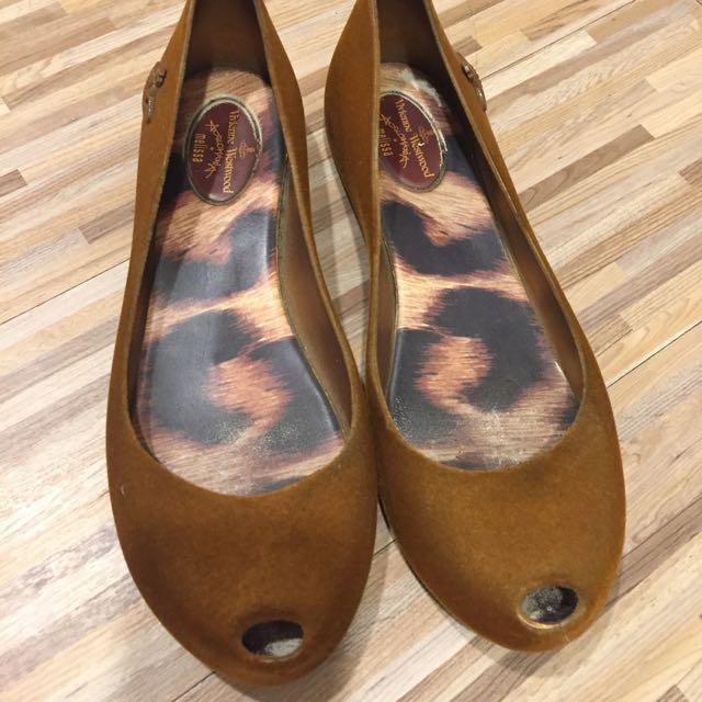 Melisa Vivienne Westwood聯名香香平底鞋