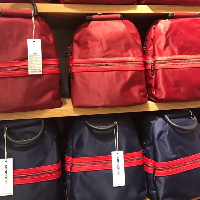 Mini Backpack Miniso