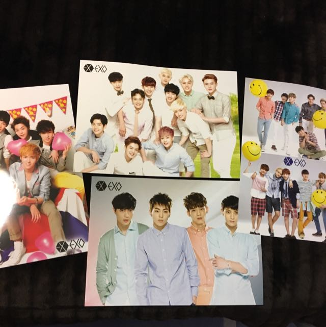 !MUST GO!Set Of EXO Posters