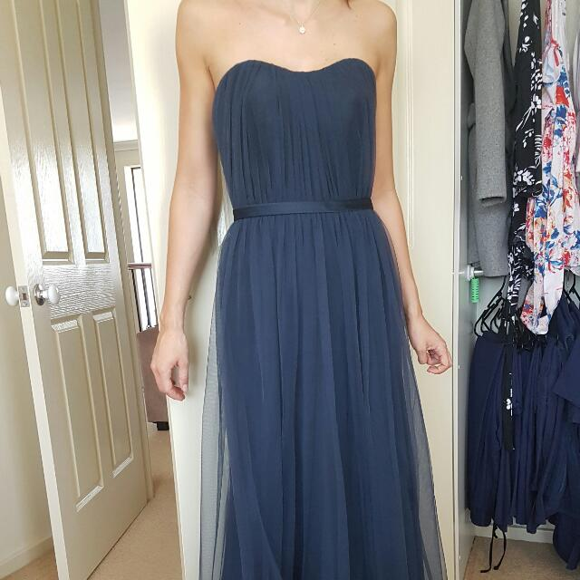 Tulle Bridesmaid Dress Size 6-8
