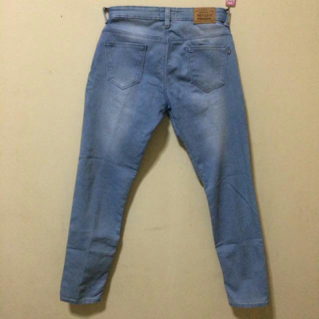 nevada jeans blue size M
