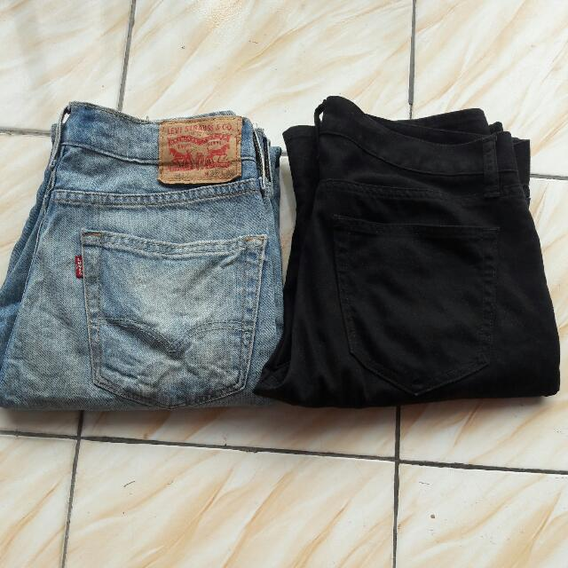 Original Levi's 541 + LP Black Chino UNIQLO