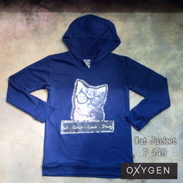 OXYGEN CAT HOODIE