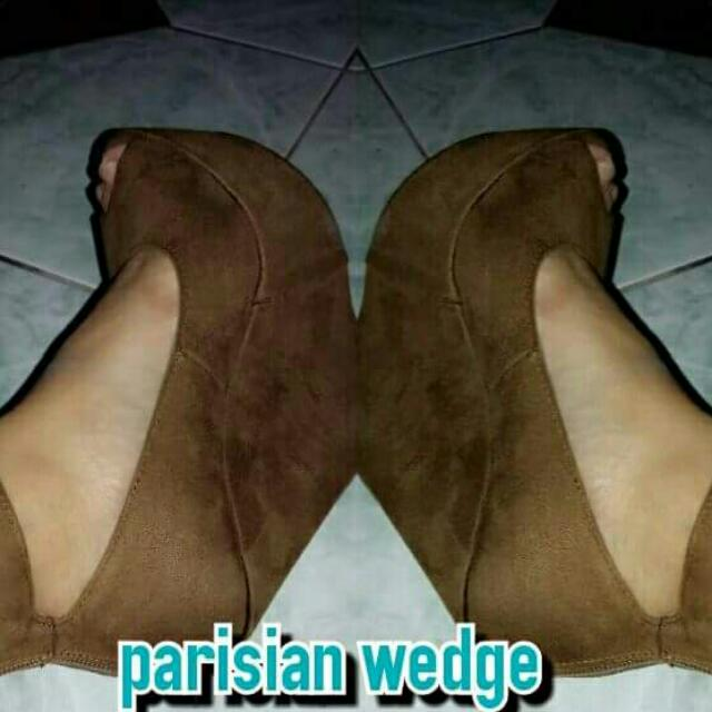 Parisian Wedge Shoes