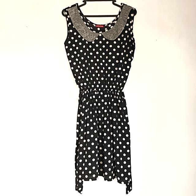 Petit Monde polka dress