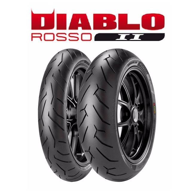 pirelli diablo rosso 2 motorbikes motorbike accessories on carousell. Black Bedroom Furniture Sets. Home Design Ideas