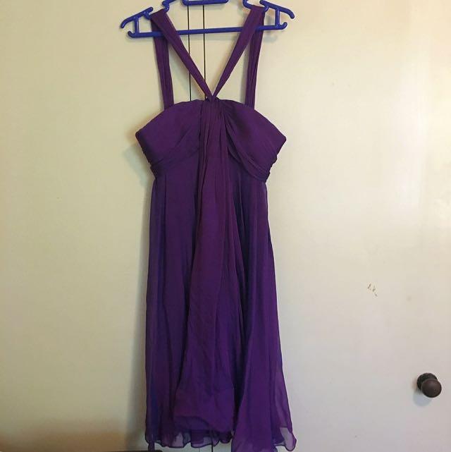 Purple Dress (FOREVER NEW)