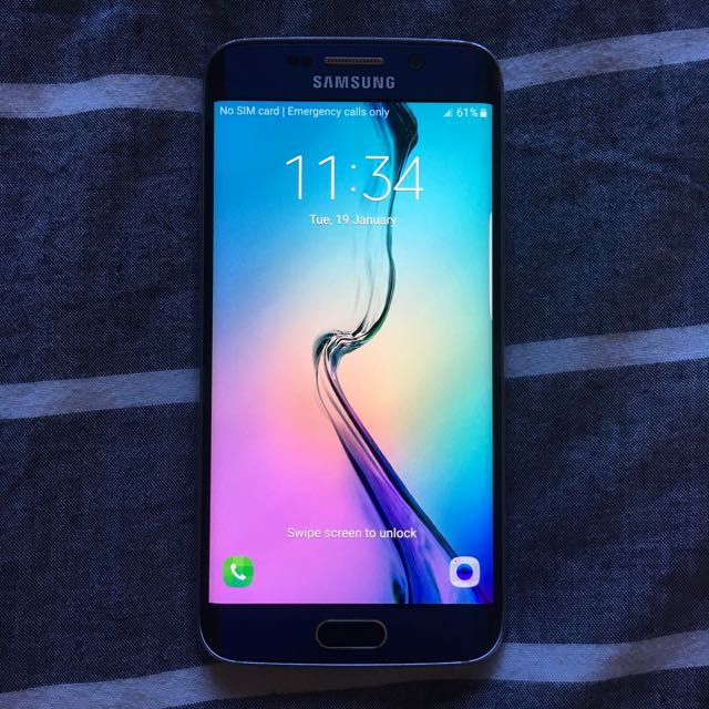 Samsung S6 Edge Blue 64GB