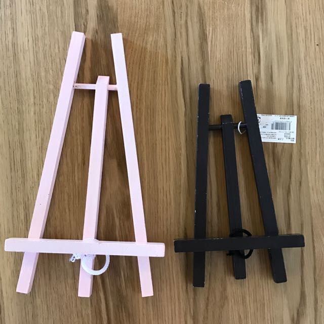 Small Painted Wooden Easels
