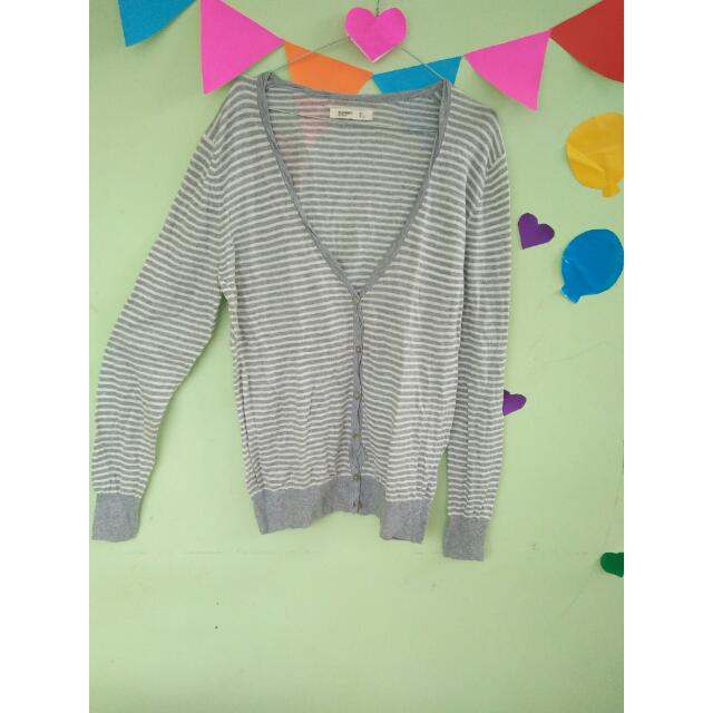 Strip Cardigan Oldnavy