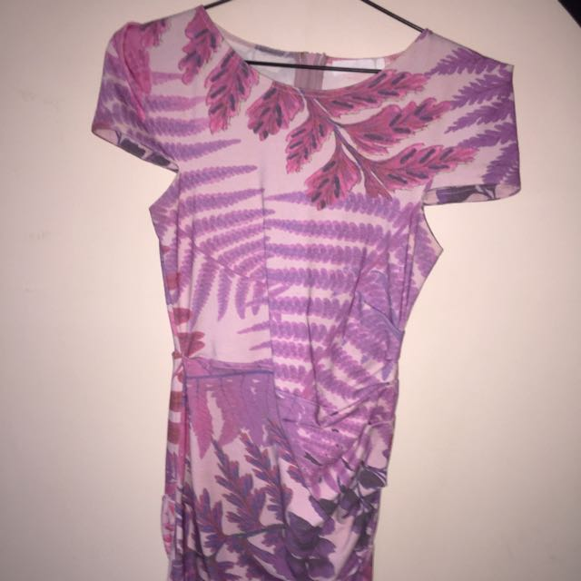 Talulah Pink Ruched Dress