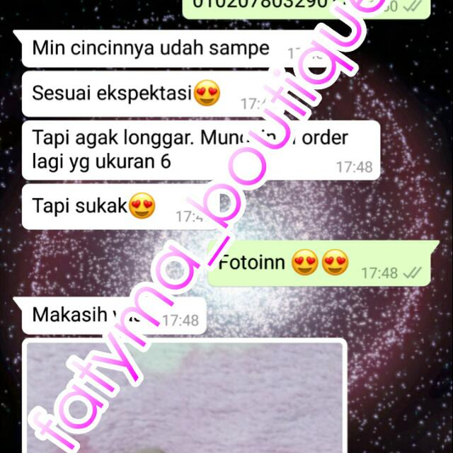 Thanks My Lovely Customer 😘😘