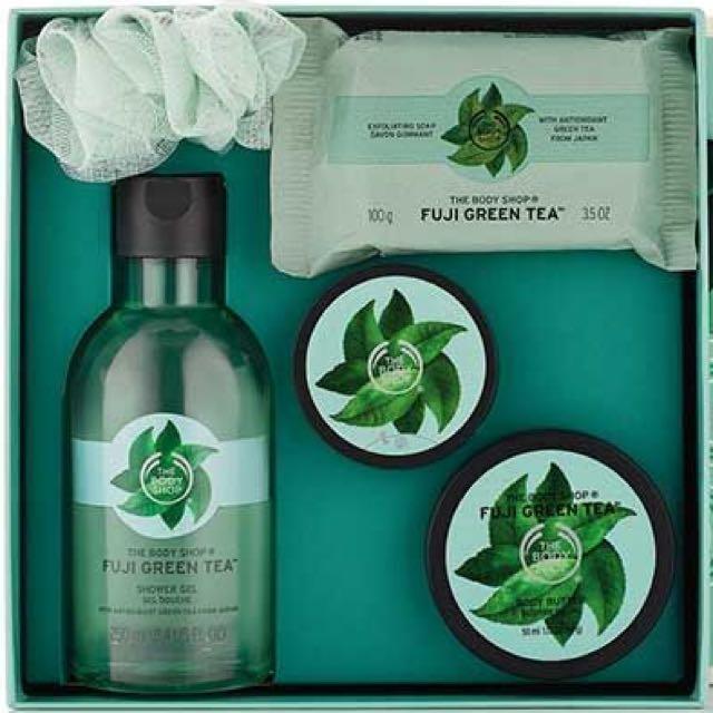 "The Body Shop "" Gift Small Fuji Green Tea """
