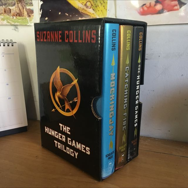 The Hunger Games Trilogy Hardbound
