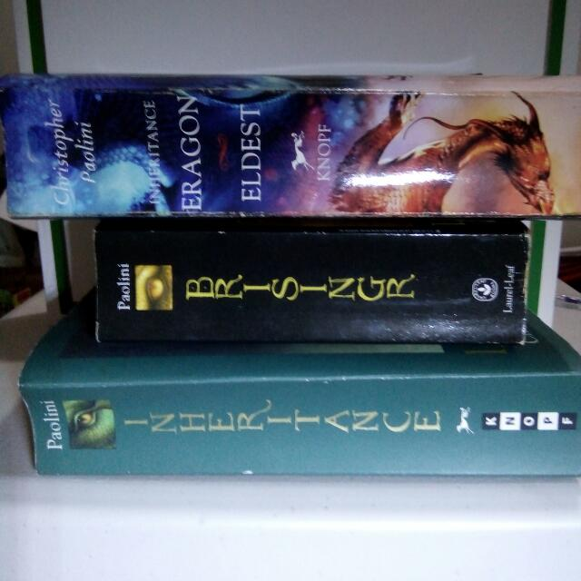 The Inheritance Cycle Collection by Christopher Paolini 1. Eragon And Eldest  2. Brisingr 3. Inheritance