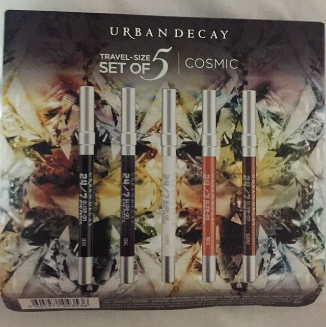 Urban Decay Cosmic Travel Size Set 5