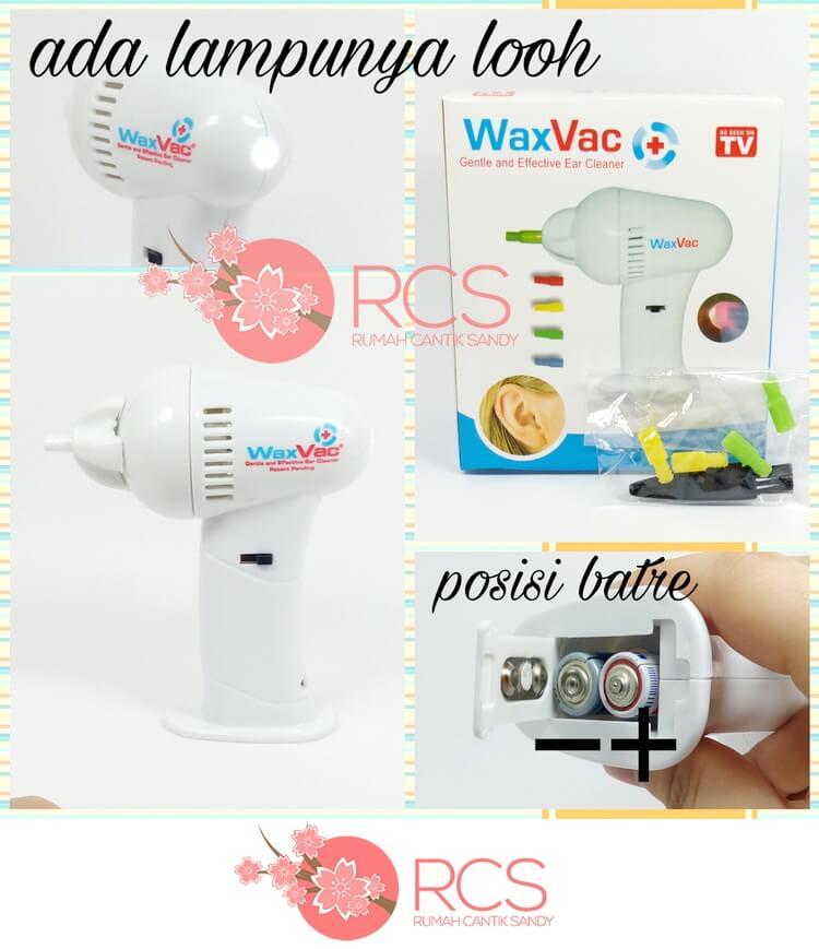 WaxVac Ear Cleaner ~ PEMBERSIH dan PENYEDOT KOTORAN TELINGA OTOMATIS !, Olshop Fashion, Olshop Produk Kecantikan di Carousell
