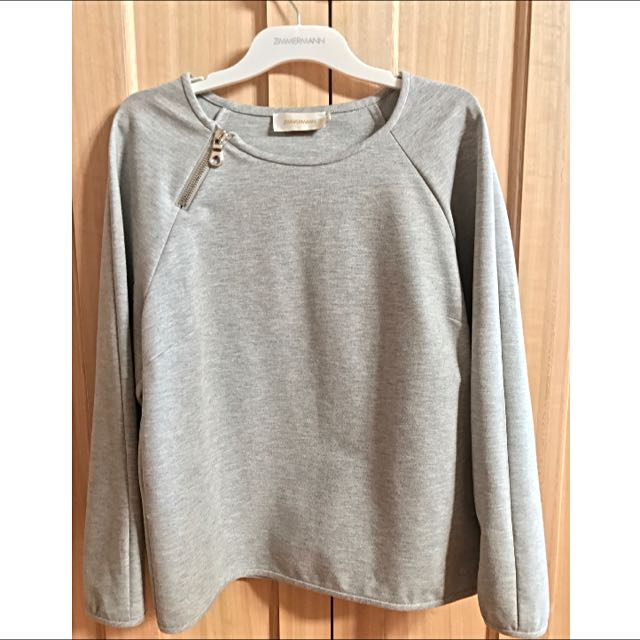 Zimmermann Grey Jumper