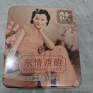 上海女人盈潤滋養嫩手霜(白蘭花)