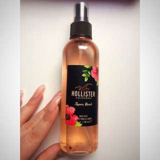 Hollister Tippers Beach Body Mist