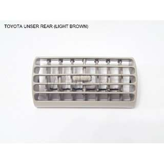 TOYOTA UNSER REAR AIR COND OUTLET/VENT/LOUVER (BROWM)