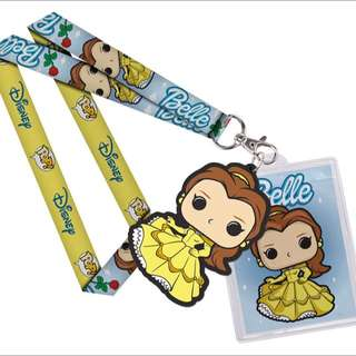 Funko Pop Lanyard Belle Disney Princess Collectible Gift Beauty and the Beast