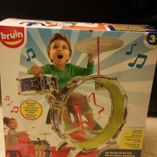 Bruin Drum Set For Toddlers