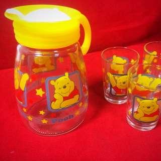 迪士尼 小熊維尼茶具組