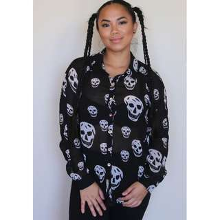 Sheer Skull shirt