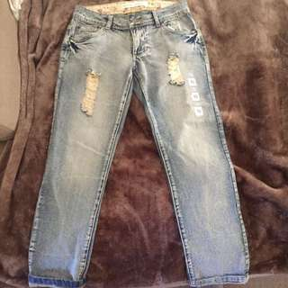 Lilly Loves Size 10 Boyfriend Jeans