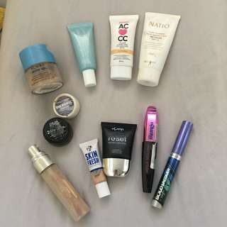 BULK MAKE UP ! BB Cream Mascara Mac Eyeshadow Australia L'Oréal Concealer Highlighter
