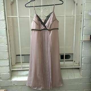 Review Dress Beige 8