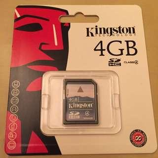 Kingston 4gb SD Card