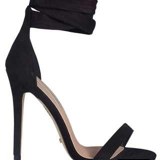 Gwyneth Black Suede Size 8