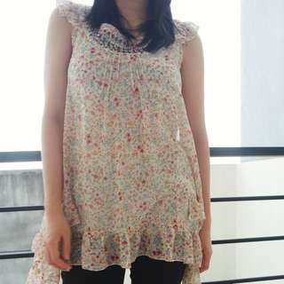 Marks And Spencer Floral Tunic
