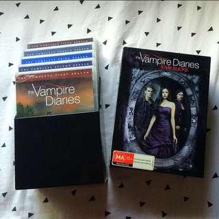 The Vampire Diaries Season 1-5 25 Disk Set