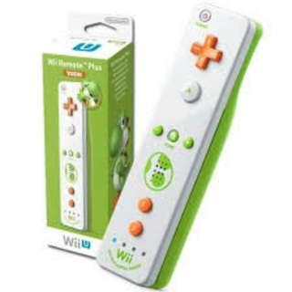 Yoshi Wii U Remote Controller