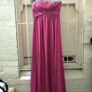 Fuschia Dress 8 Or Small 10