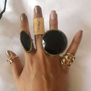 Assorted Junk Jewellery Rings ALL $2
