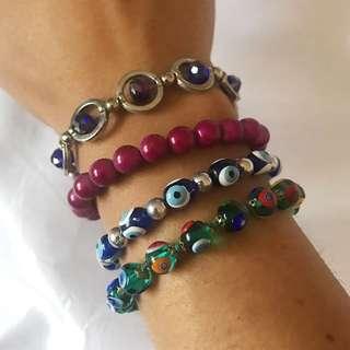 Colourful Urban Bracelets $2 Each