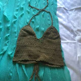 Crochet Hippie Top